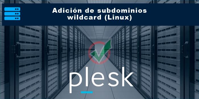 Adición de subdominios wildcard (Linux)
