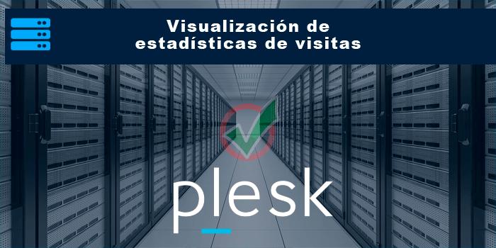 Visualización de estadísticas de visitas